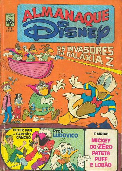 Cover for Almanaque Disney (1970 series) #148