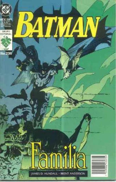 Cover for Batman (Grupo Editorial Vid, 1987 series) #230