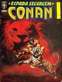 Cover Thumbnail for A Espada Selvagem de Conan (Editora Abril, 1984 series) #56