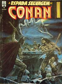 Cover Thumbnail for A Espada Selvagem de Conan (Editora Abril, 1984 series) #70