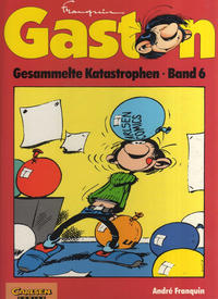 Cover Thumbnail for Gaston (Carlsen Comics [DE], 1993 series) #6