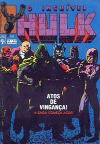 Cover Thumbnail for O Incrível Hulk (Editora Abril, 1983 series) #121