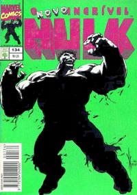 Cover Thumbnail for O Incrível Hulk (Editora Abril, 1983 series) #134