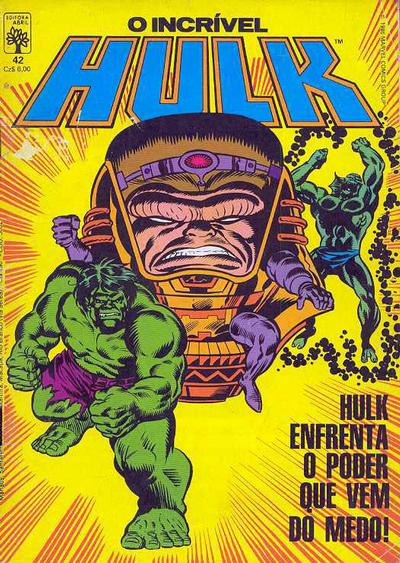Cover for O Incrível Hulk (1983 series) #42