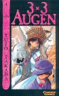 Cover for 3 x 3 Augen (Carlsen Comics [DE], 2002 series) #4
