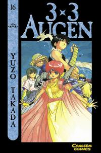 Cover Thumbnail for 3 x 3 Augen (Carlsen Comics [DE], 2002 series) #16