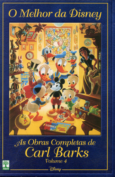 Cover for O Melhor da Disney: As Obras Completas de Carl Barks (Editora Abril, 2004 series) #4