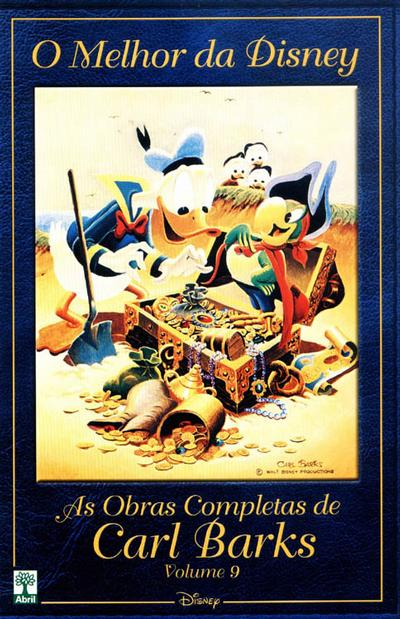 Cover for O Melhor da Disney: As Obras Completas de Carl Barks (Editora Abril, 2004 series) #9