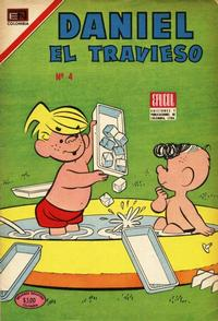 Cover Thumbnail for Daniel el Travieso (Epucol, 1977 series) #4
