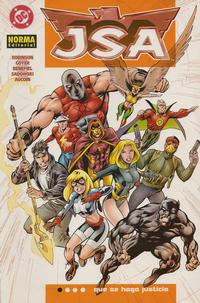 Cover Thumbnail for JSA: Que se Haga Justicia (NORMA Editorial, 2004 series)