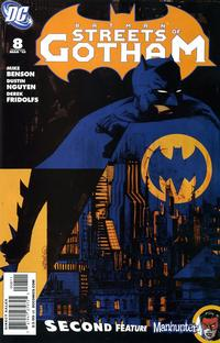 Cover Thumbnail for Batman: Streets of Gotham (DC, 2009 series) #8