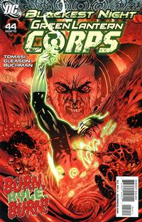 Cover for Green Lantern Corps (2006 series) #44 [Greg Horn Variant Cover]