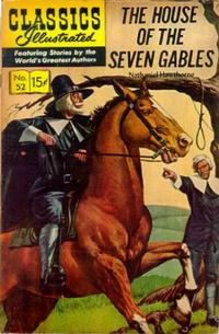 Cover Thumbnail for Classics Illustrated (Gilberton, 1947 series) #52 [HRN142] - The House of the Seven Gables