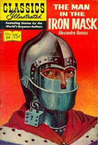 Cover Thumbnail for Classics Illustrated (Gilberton, 1947 series) #54 [HRN142] - The Man in the Iron Mask
