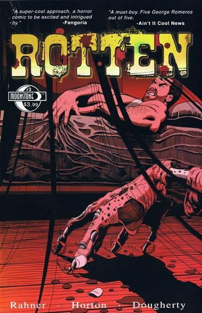 Cover for Rotten (Moonstone, 2009 series) #3