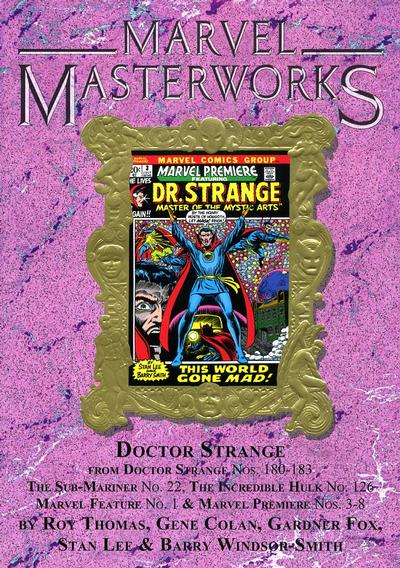 Cover for Marvel Masterworks: Doctor Strange (Marvel, 2003 series) #4 (130) [Limited Variant Edition]