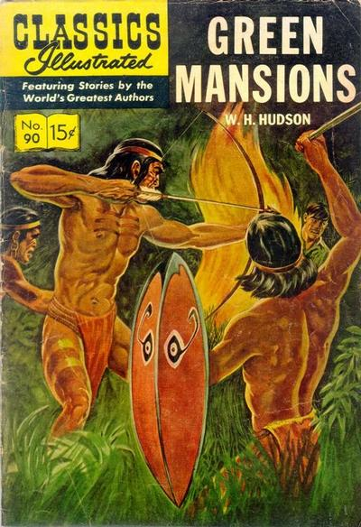 Cover for Classics Illustrated (1947 series) #90 [HRN148]