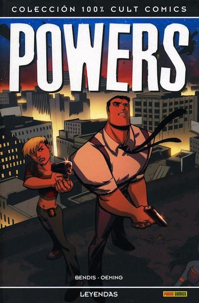 Cover for 100% Cult Comics. Powers (Panini España, 2009 series) #[8]