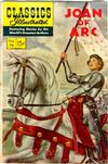 Cover for Classics Illustrated (Gilberton, 1947 series) #78 [HRN 128] - Joan of Arc [First Painted Cover]