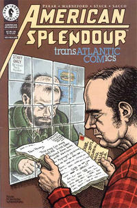 Cover Thumbnail for American Splendor: Transatlantic Comics (Dark Horse, 1998 series) #[nn]