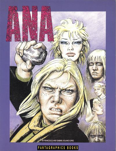 Cover for Ana (Fantagraphics, 1991 series)