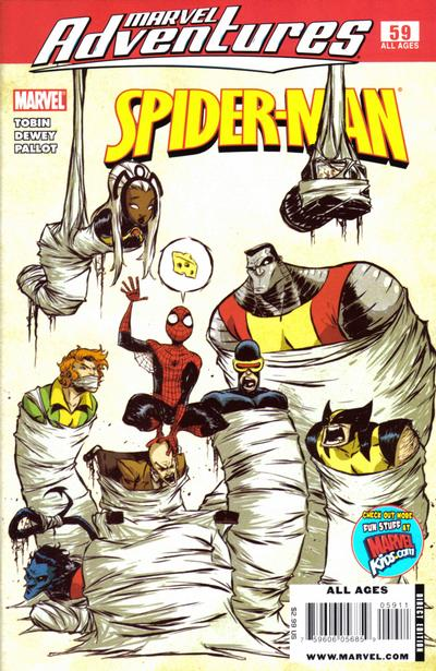 Cover for Marvel Adventures Spider-Man (2005 series) #59