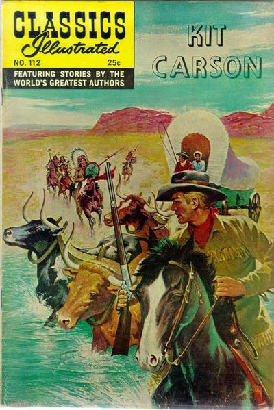 Cover for Classics Illustrated (1947 series) #112 [HRN166]