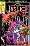 Cover for Justice (Marvel, 1986 series) #2 [Direct Edition]