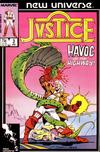 Cover for Justice (Marvel, 1986 series) #3 [Direct Edition]