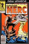 Cover Thumbnail for Mark Hazzard: Merc (1986 series) #7 [Newsstand]