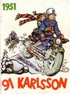 Cover for 91 Karlsson [julalbum] (Åhlén & Åkerlunds, 1934 series) #1951