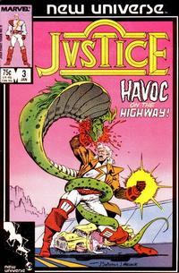 Cover Thumbnail for Justice (Marvel, 1986 series) #3 [Direct Edition]