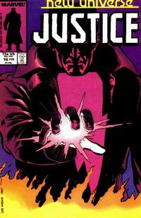 Cover Thumbnail for Justice (Marvel, 1986 series) #16