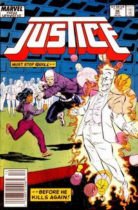 Cover Thumbnail for Justice (Marvel, 1986 series) #26