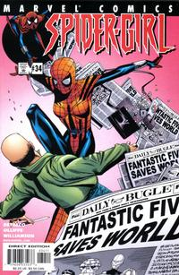 Cover Thumbnail for Spider-Girl (Marvel, 1998 series) #34
