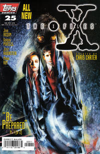 Cover Thumbnail for The X-Files (Topps, 1995 series) #25