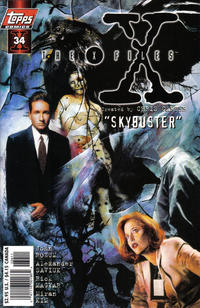 Cover Thumbnail for The X-Files (Topps, 1995 series) #34