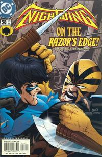 Cover Thumbnail for Nightwing (DC, 1996 series) #58 [Direct Sales]