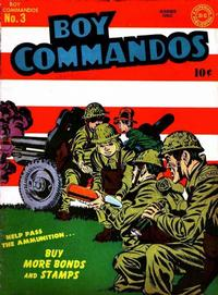 Cover Thumbnail for Boy Commandos (DC, 1942 series) #3