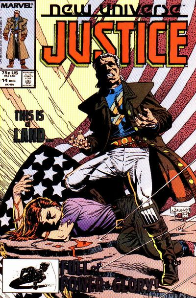 Cover for Justice (Marvel, 1986 series) #14