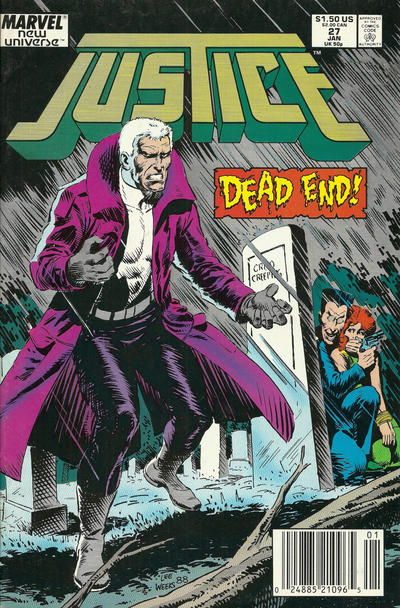 Cover for Justice (Marvel, 1986 series) #27