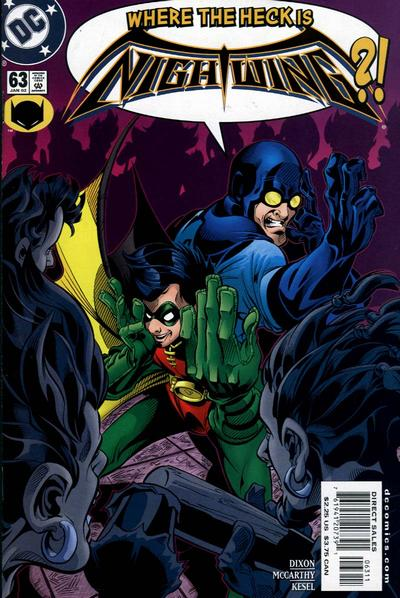 Cover for Nightwing (1996 series) #63