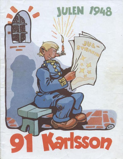 Cover for 91 Karlsson [julalbum] (1934 series) #1948
