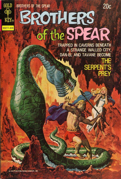Cover for Brothers of the Spear (Western, 1972 series) #6