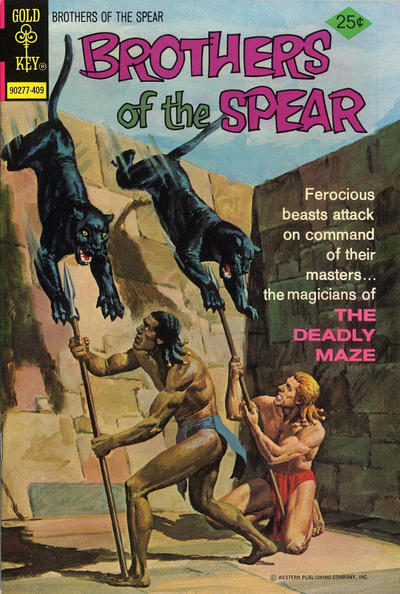 Cover for Brothers of the Spear (Western, 1972 series) #10 [Gold Key]