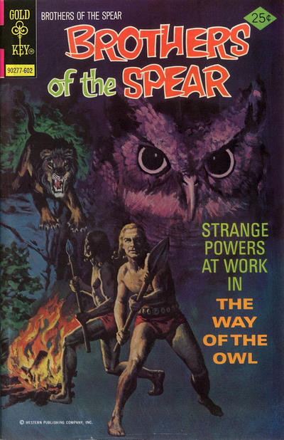 Cover for Brothers of the Spear (Western, 1972 series) #17 [Gold Key Variant]