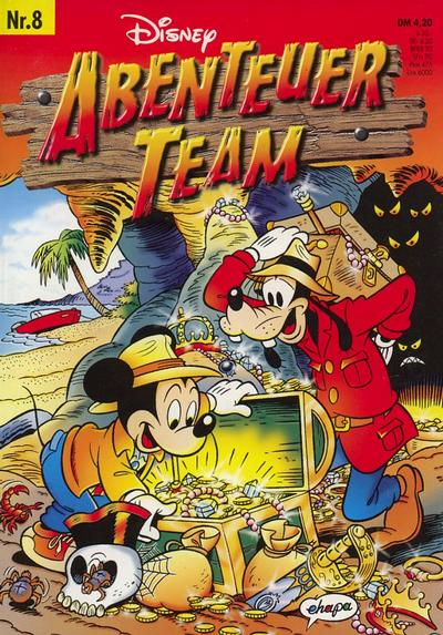 Cover for Abenteuer Team (1996 series) #8