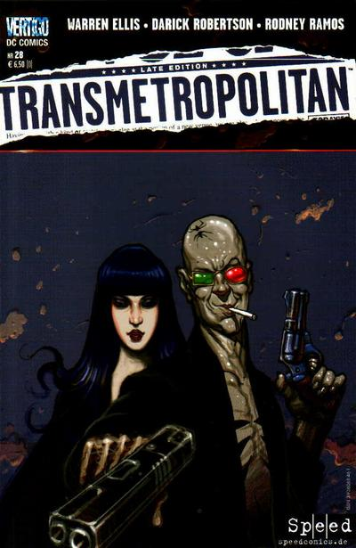 Cover for Transmetropolitan (1999 series) #28