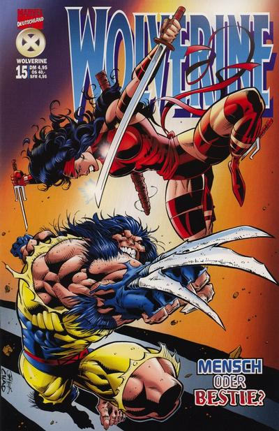 Cover for Wolverine (Panini Deutschland, 1997 series) #15