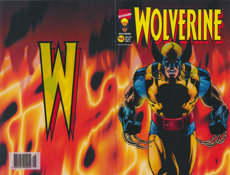 Cover for Wolverine (Panini Deutschland, 1997 series) #25